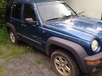 2002 Jeep Liberty 4x4 - as is or for parts
