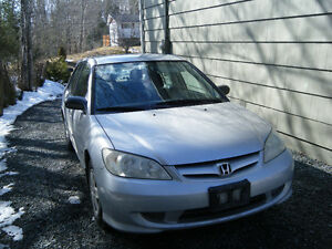 2004 Honda Civic - 2 lady owners only !