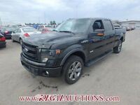 2014 FORD F150 SUPERCREW SWB 4WD 3.
