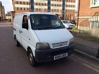 Suzuki carry van 2000/w reg 1,3 petrol twinside loading doors very clean good runner