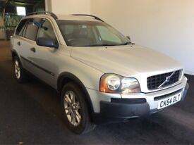 7 Seater!, 2004 54 Reg Volvo X90 Estate 2.4 D5 4WD, Diesel SE Geartronic, Automatic, 5Dr, Met Silver