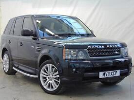 2011 Land Rover Range Rover Sport TDV6 HSE Diesel black Automatic
