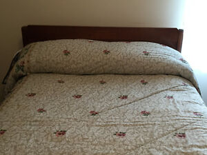 Double Bed, Headboard,  Frame & Mattress