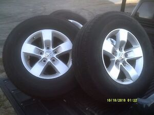 2014 DODGE 1500 RIMS AND TIRES