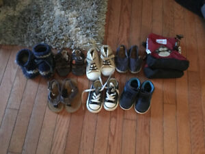Baby boy shoe lot