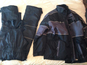 north 49 Arctic Trail parka and overalls