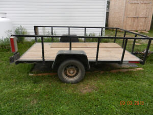 6'x 10' Tilting Utility Trailer for sale