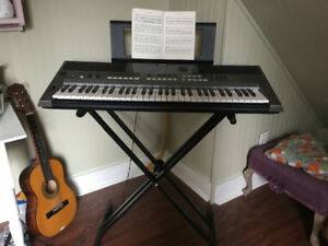 Yamaha keyboard in perfect shape.