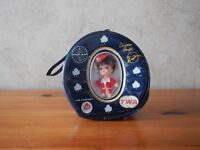 Rare LIDDLE KIDDLES AIRLINE PURSE DOLL Annee 60