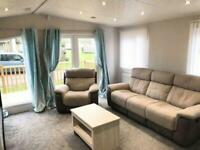 GORGEOUS 2 BEDROOM STATIC FOR SALE WITH DECKING & LOW SITE FEES!