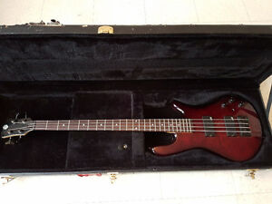 4 string Spector Legend Classic with Aguilar Pickups