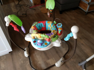 "Exerciseur Fisher Price "" jungle """