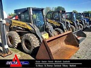 2010 New Holland L190 Skid Steer