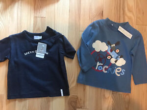 2 shirts size 12 months (never worn with tags)