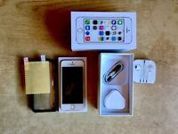 iPhone 5s silver 32gb UNLOCKED excellent condition