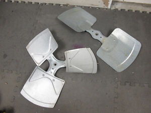 HVAC AC outdoor unit fan blades, used excellent, 3 & 2 blade