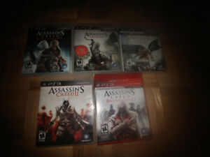 Jeux ps3 assassin creed