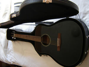 Acoustic/electric fender and case