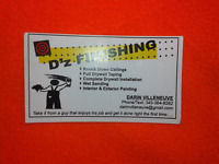 D'z DRYWALL FINISHING & PAINTING