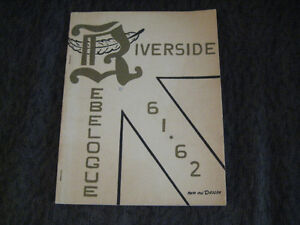 1962 Riverside High School Year Book . Windsor Region Ontario image 1