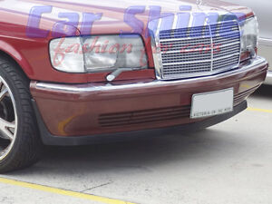 Mercedes-W126-S-Class-LUDWIG-FRONT-MINI-LIP-SPOILER-300-420-560-models-86on