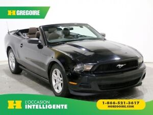 2012 Ford Mustang V6 PREMIUM AUTO A/C CONVERTIBLE MAGS