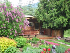 cottage vacation rental in Sicamous