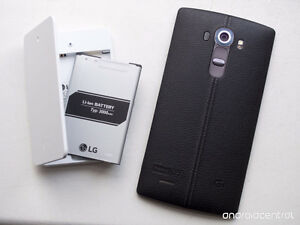 LG G4 with lots of extras