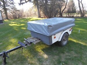 Motorcycle Tent Trailer