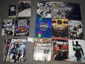 Video Game Books - Sonic, Pokemon, Nintendo + Guides