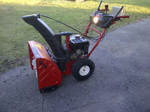 "Troy-Bilt 24"" snowblower"