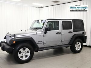 2013 Jeep Wrangler Unlimited!  With new tires, fresh MVI, full t