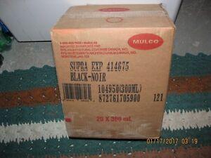 Caisse de 20 tubes calfeutrant Noir (Calking) Supra Expert