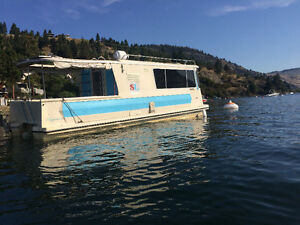 Newly Remodelled 23' 1973 Trailerable Houseboat for sale