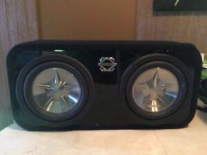 Clarion Subs and Bassworx Box