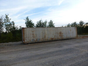 (1) Left Storage Containers ( 40ft.)