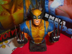 Wolverine statue - limited Chrome Claw edition-Only 500 in world