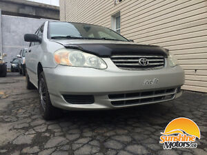 ☀☀2003 Toyota Corolla | MANUELLE, A1 MECHANIQUE, GARANTIE 1 AN