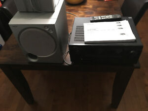 Surround Sound system and subwoofer - $325 obo