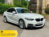 2014 BMW 2 Series 218d M SPORT COUPE Diesel Manual