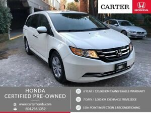 2017 Honda Odyssey EX-L w/RES + CERTIFIED + MANAGERS SPECIAL!