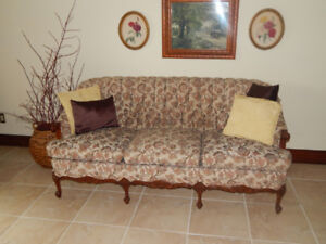 French Provincial Set - Couch and Chair