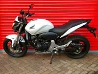 2011 HONDA CB 600 FA-B HORNET WHITE ONLY 1300 MILES FROM NEW P/X WELCOME
