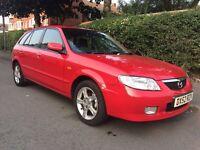 Mazda 323 1.6 5dr 2002