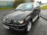 BMW X5 4.4 PETROL AUTO 5 DOOR 4X4