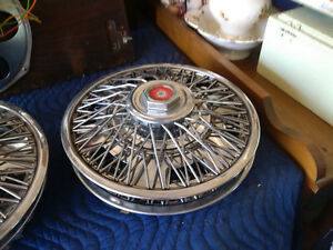 "14"" spoke wheel covers vintage pontiac"