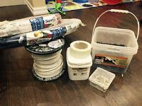 Leftover home renovation materials