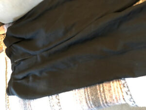 Black lined dress pants size 12 petite asking $10 see pictures