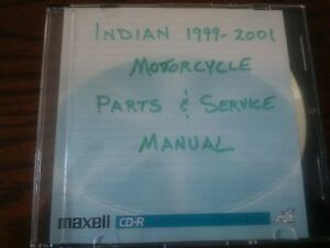 indian Motorcycle Parts $ Service CD