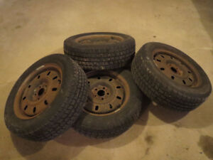 Cooper Winter Tires with rims